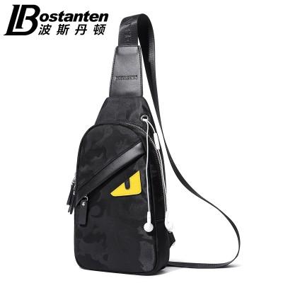 The small monster chest pack male Korean tide Oxford sports leisure canvas cloth pocket Shoulder Bag Messenger Bag man bag