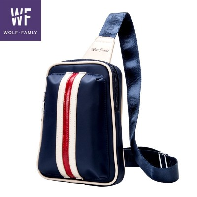 Men multifunctional chest pack bag bag bag backpack sport casual canvas Satchel Purse men tide