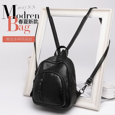 2017 summer new Korean tide lady backpack women fashion casual backpack bag all-match Mini chest pack