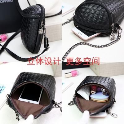 Mobile phone bag 2017 female Mini summer bag shoulder all-match Korean Satchel Bag Purse female mobile phone
