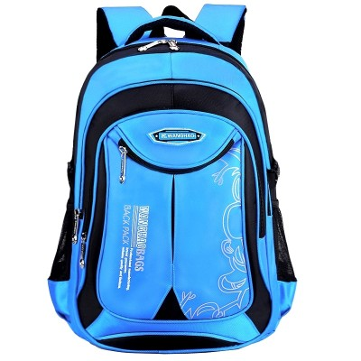 Wang Hao bags, primary and secondary school boys and girls, grade 1-34-6 children's bags, waterproof and waterproof shoulder bag