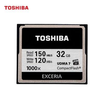 Toshiba CF card 32 g 1000 x 5 d3 D800 SLR camera memory card, memory card at a high speed
