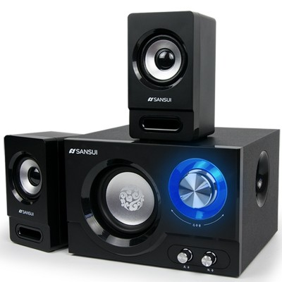 Sansui/landscape GS - 6000 (10) e stereo bluetooth speaker subwoofer household mini computer desktop