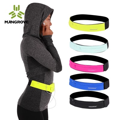 Mangove's outdoor running mobile wallet is a waterproof, waterproof, waterproof, body-hugging waistband