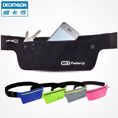 Decathlon's Fanny pack, the iphone 6p, is a stealthy, anti-theft KALENJI