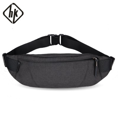 The HK wallet men's waist bag is packed with men's breast bags