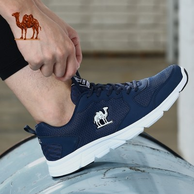 Camel sports shoes, men and women breathable casual shoes, light wear, slow vibration, running shoes