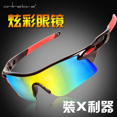 Bicycle riding sports goggles glasses glasses sand Men Road Motorcycle mountain bike battery accessories
