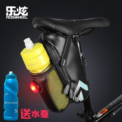 Le dazzle bike bag, tail wrap, mountain bike pack, seat pack, folding car, back seat pack, tail lamp, riding equipment fittings