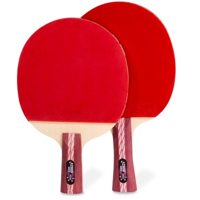 Double happiness table tennis racket 4 PPQ four star hurricane king 3 Samsung penhold grip single shot two beginners