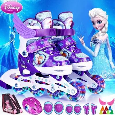 Disney skates, children's outfits, 3-6 roller skates, skating, roller skates, 4-5-10 year old beginners, men and women