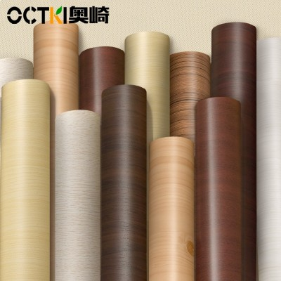 Wood stickers, waterproof wallpaper, self-adhesive furniture cabinets, desktop renovation, stickers, doors, cabinets, decorative wallpaper, self-adhesive