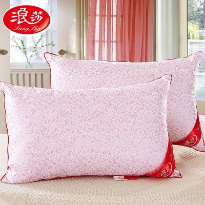 Hotel Sakura pillow [1 Langsha on] adult feather velvet pillow cervical pillow pillow for adult students