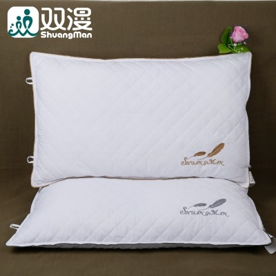 Double diffuse buckwheat buckwheat buckwheat pillow adult long single cervical pillow neck protecting pillow pillowcase to students
