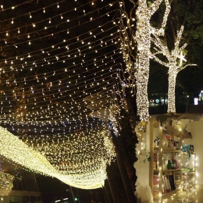 LED small lights flashing light Qian Kang stars wedding decoration lamp Festival stars waterproof bedroom lamp