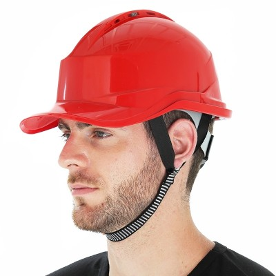 The construction of the national standard construction supervision helmet is led by the construction of the abs safety helmet in the summer