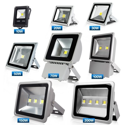 LED lighting lamp 200w waterproof outdoor lamp outdoor lighting courtyard workshop floodlamp 100W lamp