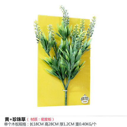 The three-dimensional simulation of floral plant wall decorations ...