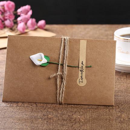 Creative birthday greeting cards retro kraft paper business please select m4hsunfo