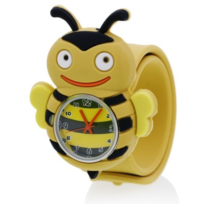 Applauded Luo Dini boys and girls children cartoon animals circle electronic quartz watch waterproof students toys