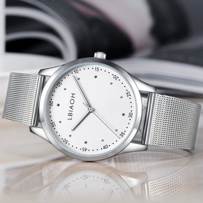 Lang LBIAOH parker ultra-thin waterproof business really belt quartz men watch fashion ultra-thin waterproof watch