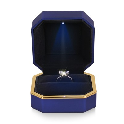 Ring cassette LED light paint jewelry packaging gift box Pendant Bracelet diamond necklace box