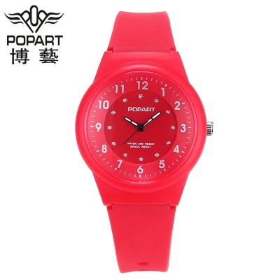 The new children watch girls girls waterproof junior high pupil cartoon children's digital table pointer men and women