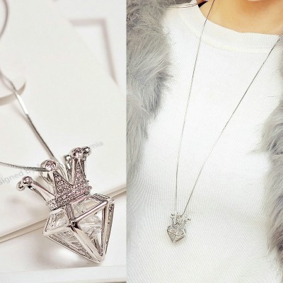 Compose love to buy 2 get 1, Japan and South Korea version of long female south Korean pendant accessories contracted sweater chain necklace joker to winter