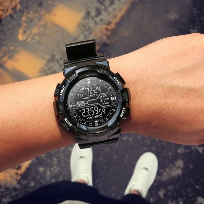 Zgo electronic watch male sports high school junior high school student male han edition tide table youth outdoor men waterproof watch