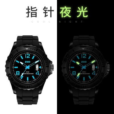 Zgo Watch gay boy students in junior middle school teens waterproof quartz watch young high school boy