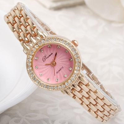 Polly m female table bracelet watch waterproof drill watch female south Korean quartz watch students fashion ladies watch