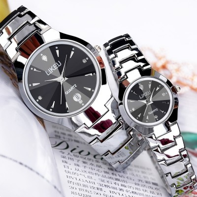 Female students simple han edition men's watch fashion watches watch waterproof watch men quartz couples luminous