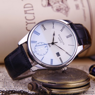 Couples watch male students table a belt waterproof watch female contracted male table thin current han edition quartz movement