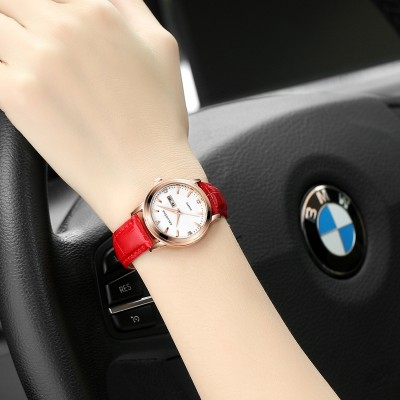 The new fashion lovers calendar really belt male lady waterproof quartz wrist watch men and women students