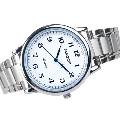 The old man watches for men and women Waterproof big dial male table to restore ancient ways quartz watch Strip the elderly female table