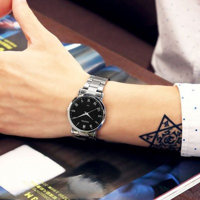 Fashion brand watches women's waterproof male table lovers ladies watch casual vintage mens watch quartz watch