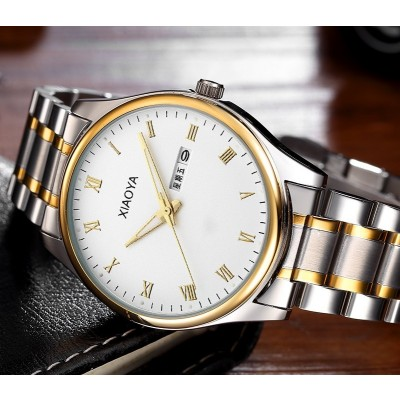 Xiaoya Fashion watches male lady luminous strip male table expressions of female table leisure trend quartz couple table