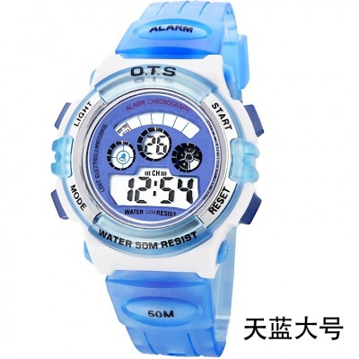 OTS boys and girls children watch waterproof noctilucent pupil watches boys movement electronic watch girl watches