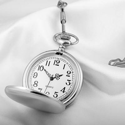 Classic pocket watch Men's watch quartz watch Flip creative vintage table fashion men's watch gift table
