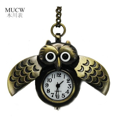 Quartz watch students children Flip the watch restoring ancient ways Ms male table insert send couple old pocket watch