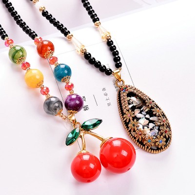 Compose love to buy 2 get 1 sweater chain national wind restoring ancient ways female best match act the role of winter fashion contracted accesories long necklace