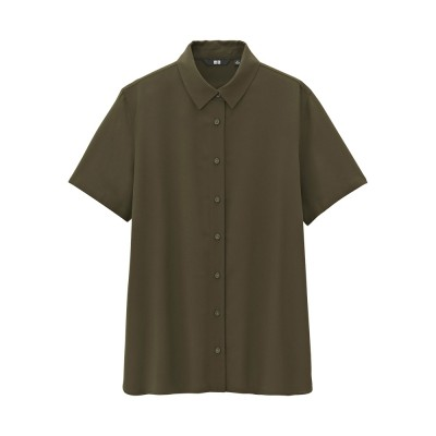 Fancy dress shirt (short sleeved) 181624 UNIQLO