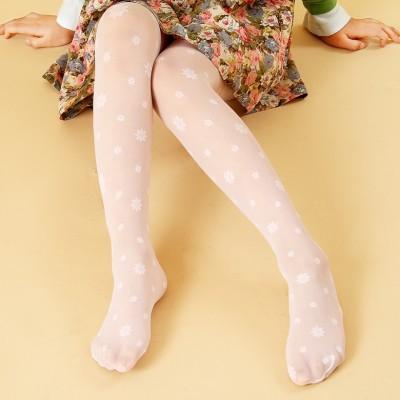 Children's dance socks, girls stockings, pantyhose, big children, core silk, grounding socks, summer super thin stockings