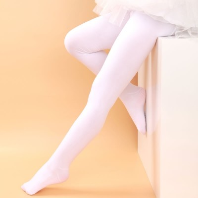 Girls Dance Summer socks Bodystockings children thin white stockings socks panty Baby Dance Tights