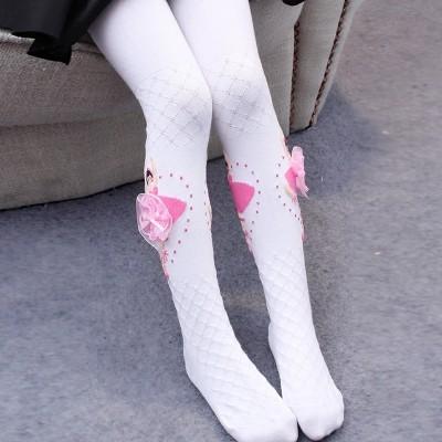 Children tights, spring 3, autumn 5, baby 7, white, 9 years old, dance socks, princesses, women's wear, leggings, socks