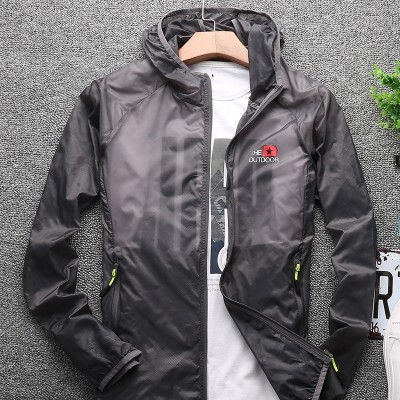 Coat, men's summer sun clothing, men's thin breathable jacket, sunscreen, Korean tide, sun unlined upper garment, men's  new models
