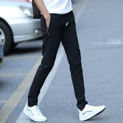summer new nine point casual pants, male Korean version, slim feet pants, Haren pants, boys tide, pants thin