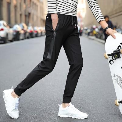 Men's pants, summer , new tide, Korean version of casual pants, Haren nine points pants, sports thin, slim feet pants
