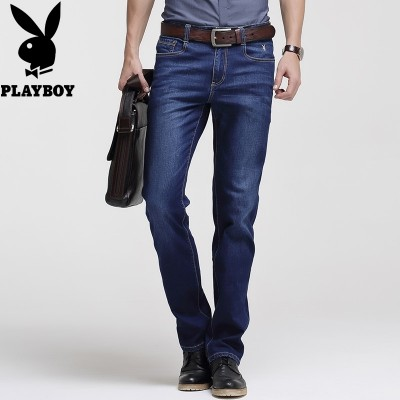 Stretch Playboy jeans, men's summer shorts, slim men's pants, business casual youth, men's trousers