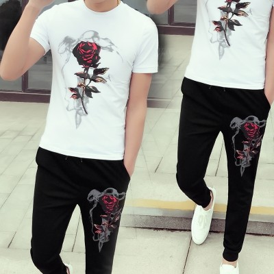 Men's summer new products, a sports casual T-shirt, short sleeved clothes, young students Korean version of thin men